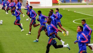 Piłkarze reprezentacji Kolumbii