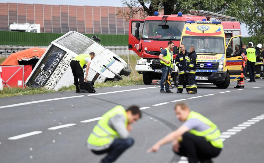 Wypadek w Konstantynowie