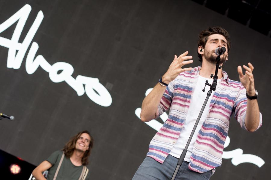 Alvaro Soler na Life Festival OświęcimFot. Konrad Kubuśka