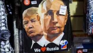 T-shirt z Trumpem i Putinem