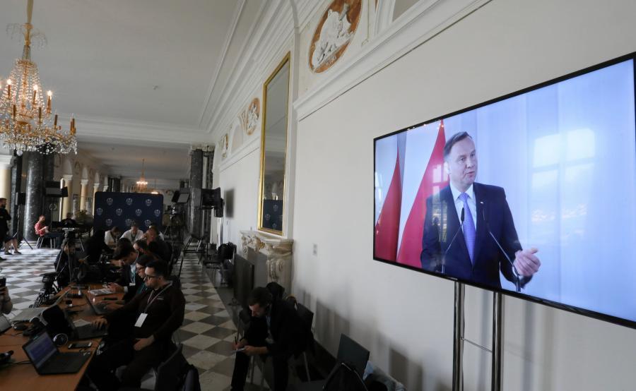 Orędzie Andrzeja Dudy podczas Zgromadzenia Narodowego na Zamku Królewskim