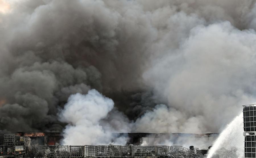 Pożar Polkowice