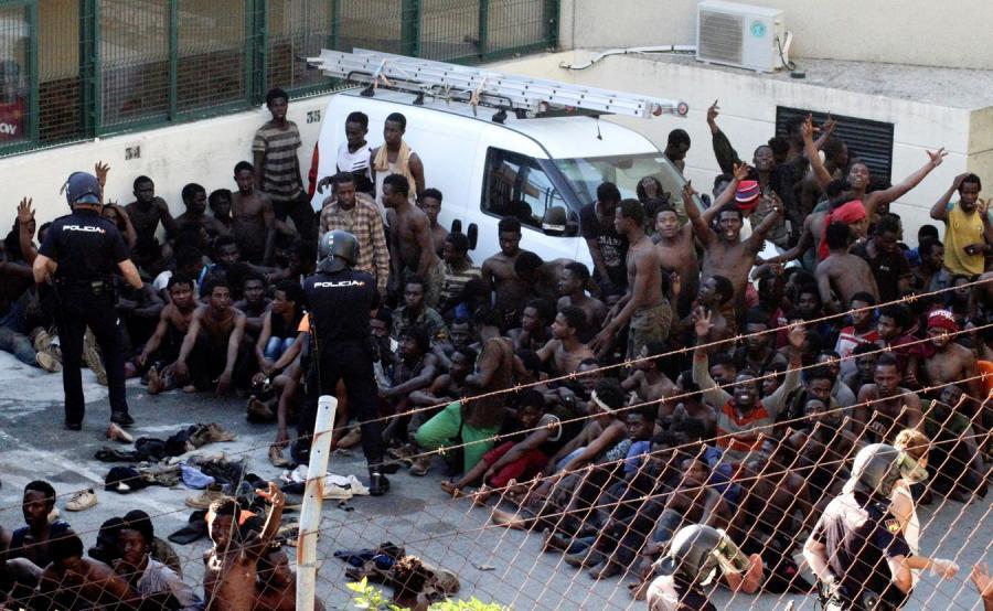 Ceuta imigranci