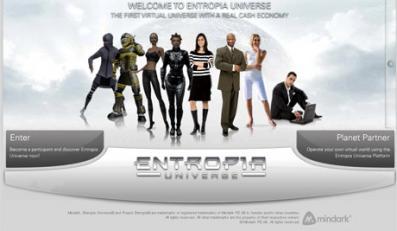 """""""Project Entropia"""" to gra sieciowa z własnym bankiem"""