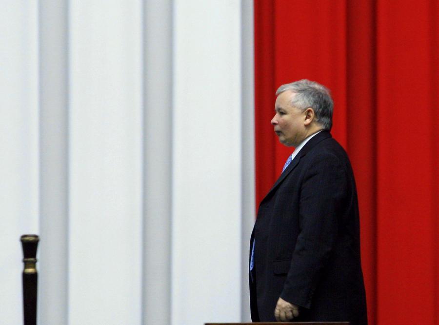 Kaczyński zlekceważył debatę o kryzysie