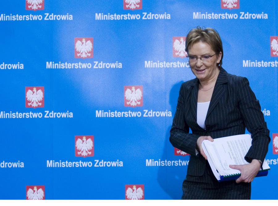 Minister Ewa Kopacz odejdzie z rządu