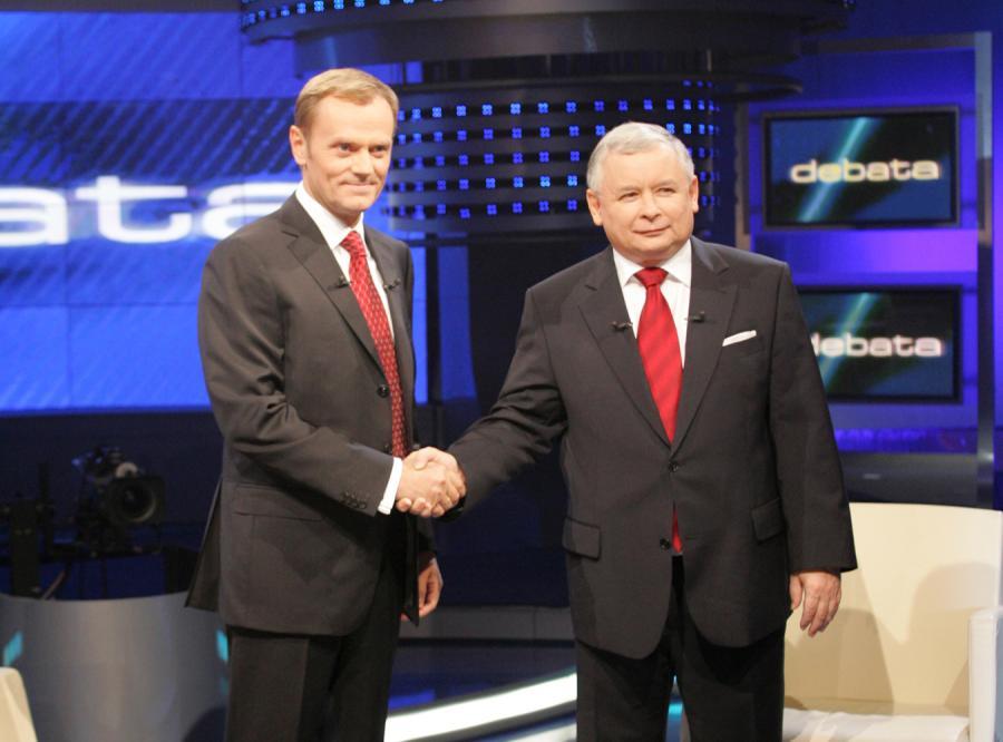 Tusk jest niepopularny jak Kaczyński pod koniec rządów
