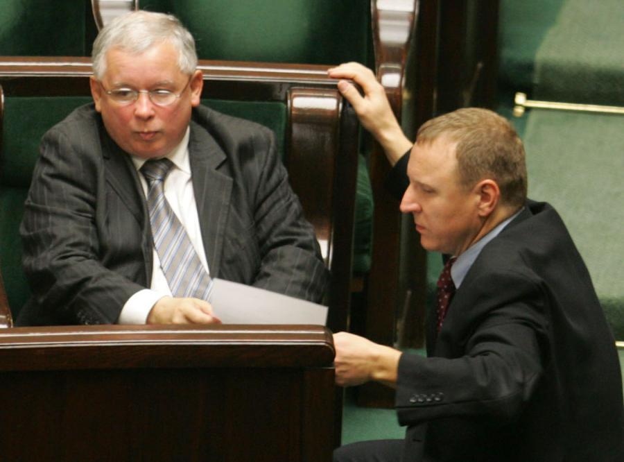 Prezes PiS nie puści Kurskiego do Brukseli.