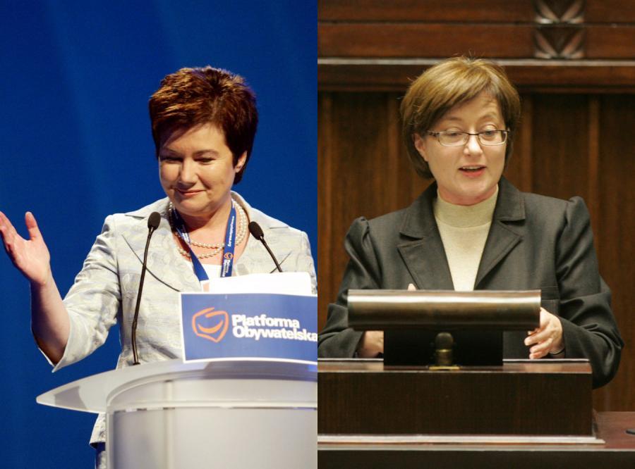 Aniołki i paprotki Kaczyńskiego i Tuska