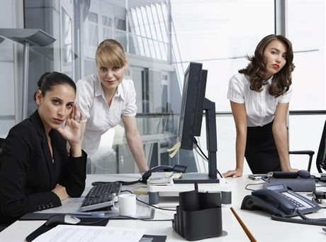 Businesswomen --- Image by © Sven Hagolani/zefa/Corbis
