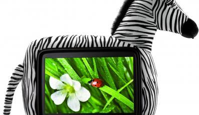 Telewizor w futerku ukryty