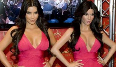 Zobacz nową, woskową Kim Kardashian
