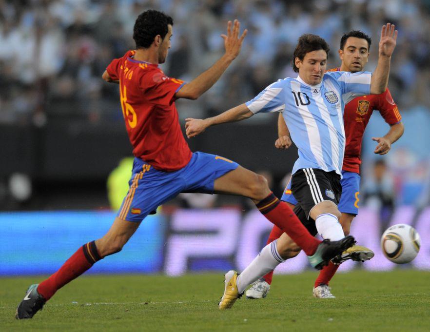 Hiszpanie polegli z Argentyną 1:4. \