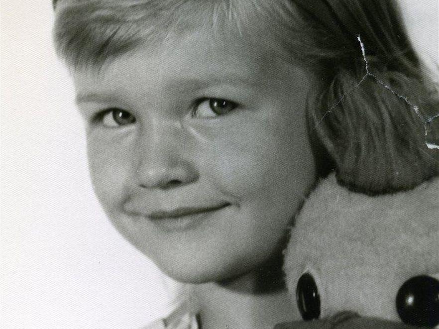 Joanna Krupa w dzieciństwie