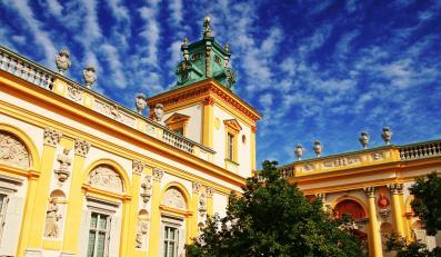Dzięki Unii dopieszczą przedpole pałacu w Wilanowie