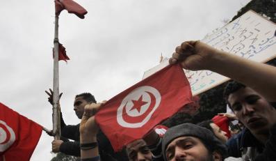 Wrócił do Tunezji po 20 latach wygnania. Witały go tłumy