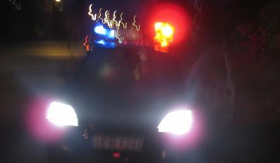 Policjant uciekł z miejsca wypadku