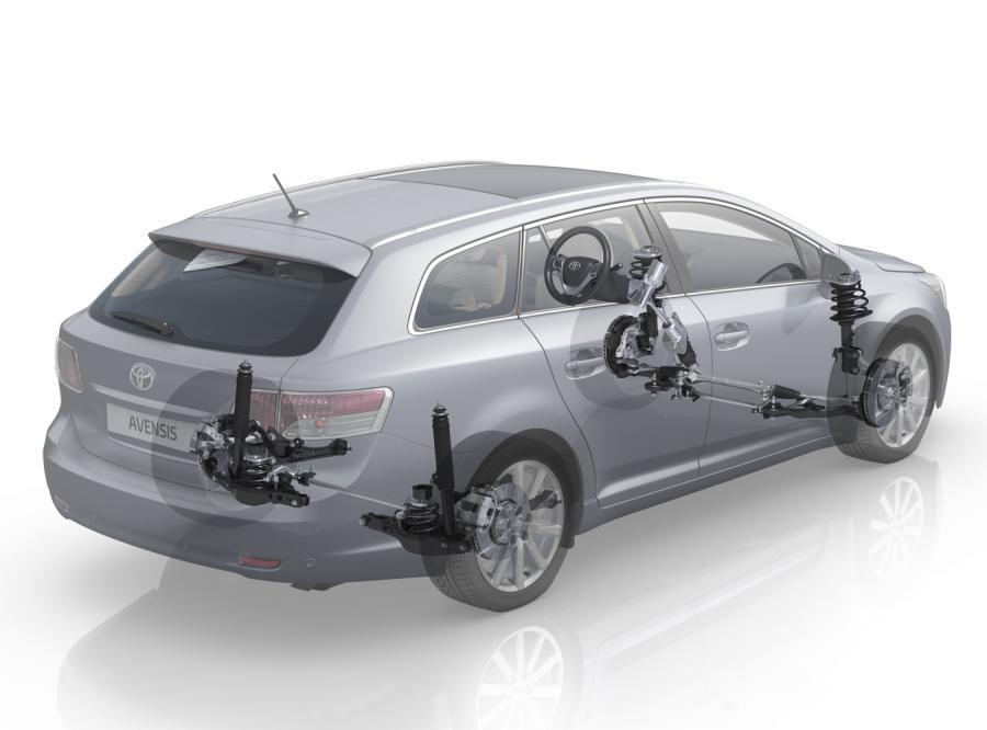 Toyota avensis wyjeżdża do... Japonii