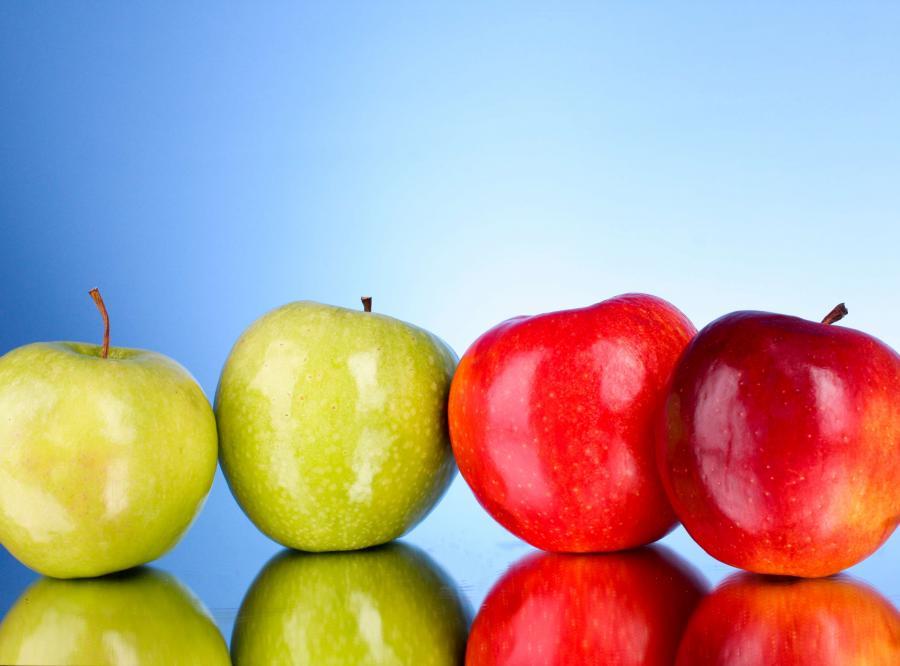 jabłka owoce