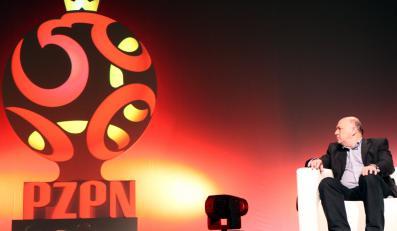 Grzegorz Lato podziwia nowe logo PZPN