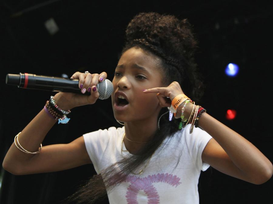 10-latka na topie, czyli Willow Smith