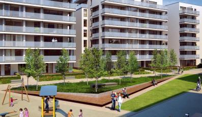 Wielki kompleks małych mieszkań