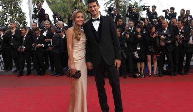 Novak Djokovic w Cannes
