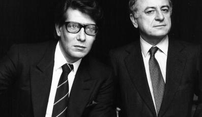 Szalona miłość: Yves Saint Laurent i Pierre Berge