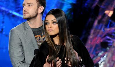 Justin Timberlake z Milą Kunis