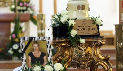 Pogrzeb Małgorzaty Dydek
