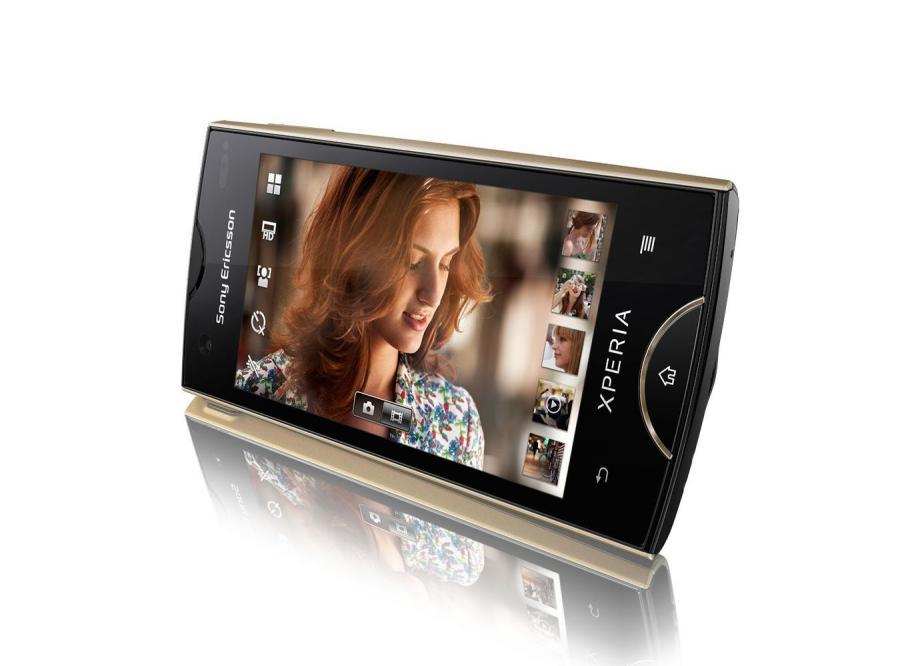 Piękny smartfon od Sony Ericssona