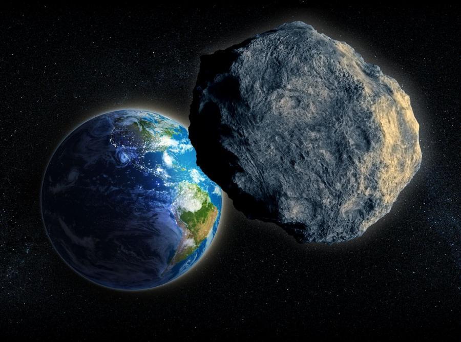 Meteoryt i Ziemia - zdjęcie ilustracyjne