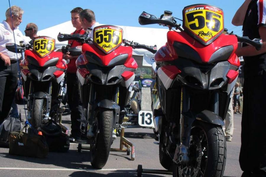 Ducati wygrało Pikes Peak International Hill Climb 2011