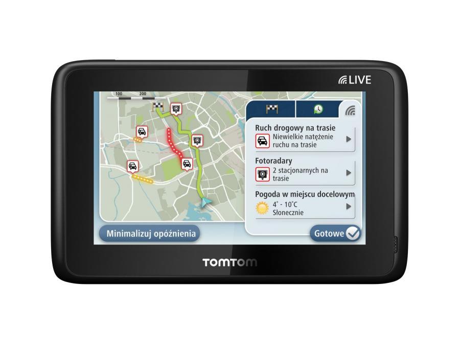 Nowe nawigacje TomToma pomogą ominąć korki