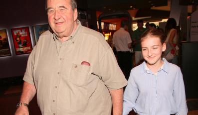 Krzysztof Kowalewski (filmowy Szeryf) z córką Gabrielą