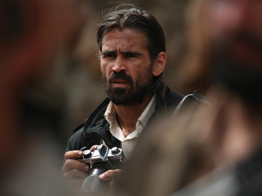 Colin Farrell walczy o zdjęcie