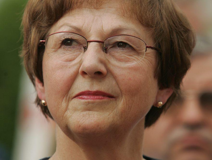 Posłanka PiS Maria Zuba wybuczana w Michniowie
