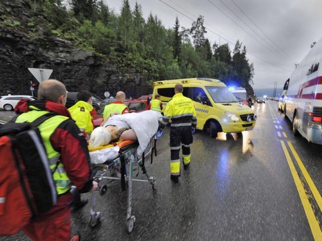 Na wyspie Utoya zginęły co najmniej 84 osoby
