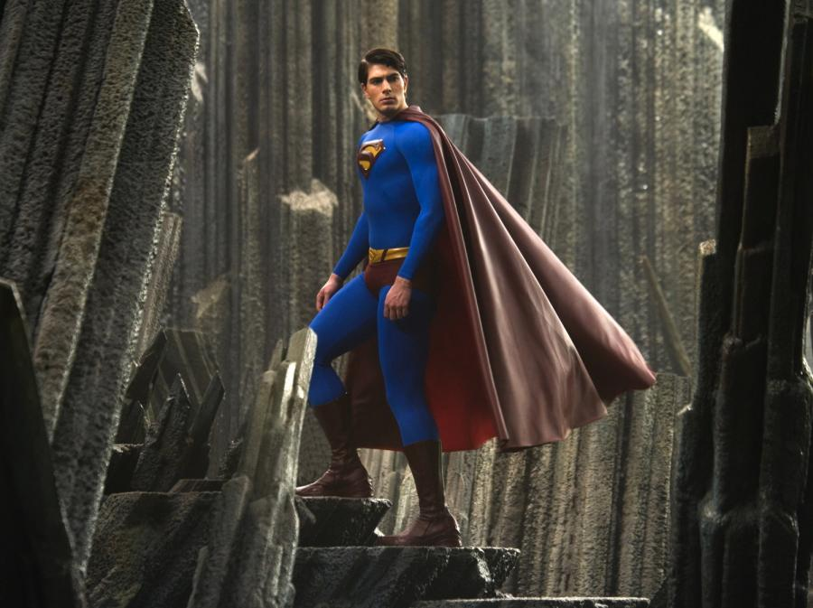 "Brandon Routh w filmie ""Superman: Powrót"""