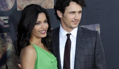 Freida Pinto i James Franco