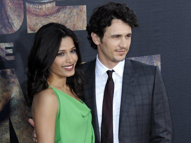 Freida Pinto i James Franco