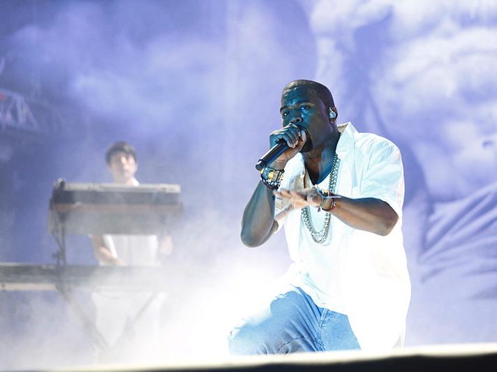 Kanye West w Krakowie