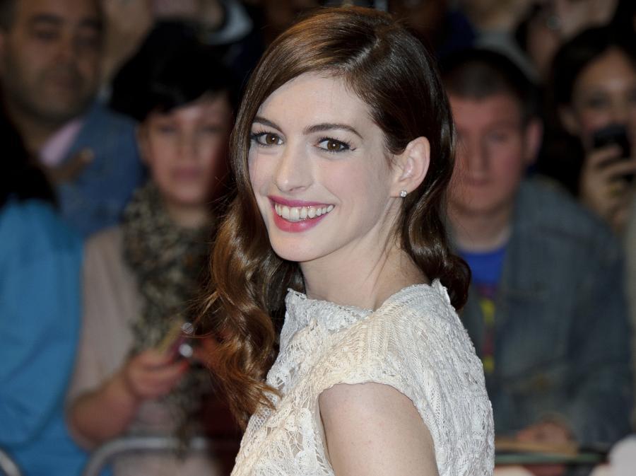 Anne Hathaway dla odmiany chce coś ugotować