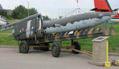 V1 - pocisk z czasów II wojny światowej nazywany latajcą bombą