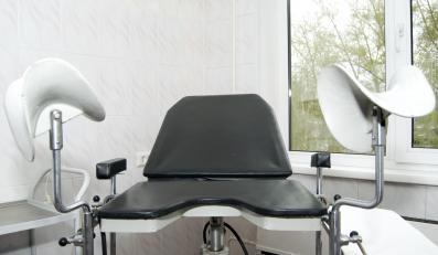 Fotel w gabinecie lekarskim