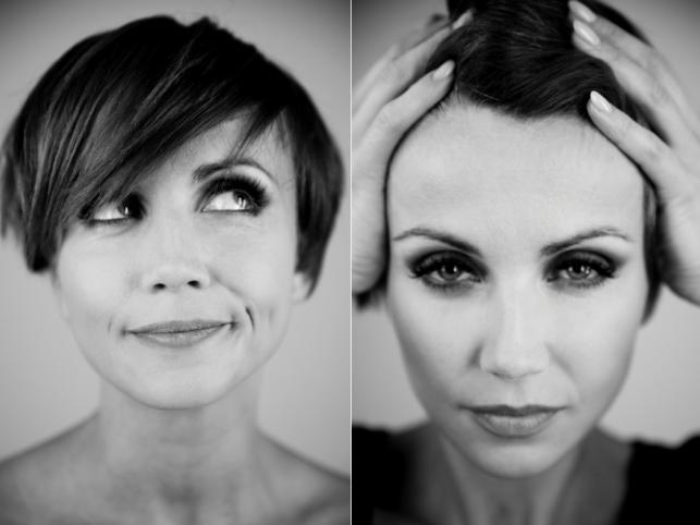 """Kasia Zielińska jako top modelka w sesji wykorzystanej w filmie """"Listy do M."""""""