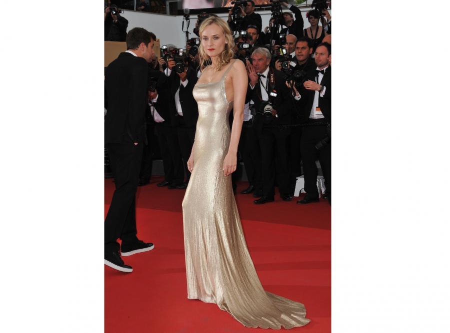Diane Kruger w kracji marki Calvin Klein