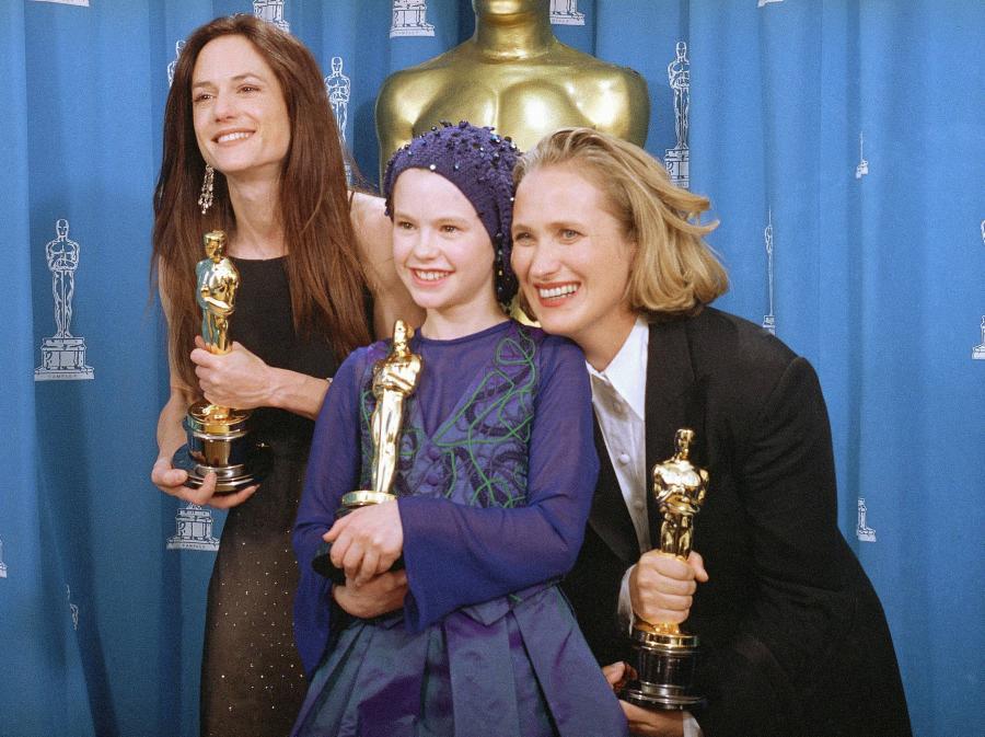 Jane Campion, Holly Hunter i Anna Paquin z Oscarami za \