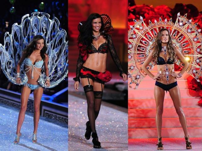 Najgorętsze Aniołki Victoria's Secret na wybiegu. Lima, Kerr, Ambrosio, Kroes. Zobacz!
