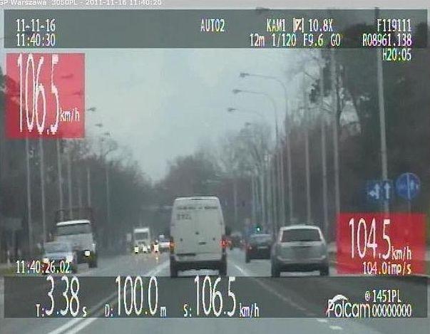 Busami przez Stalową Wolę 100 km/h